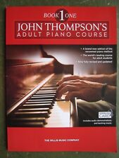 John Thompson Adult Piano Course book 1 *NEW* published by Willis Music