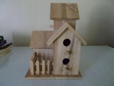 Handman Unfinished Wood Bird House