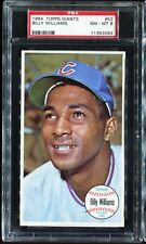 1964 Topps Giants #52 BILLY WILLIAMS Chicago Cubs PSA 8 NM-MT