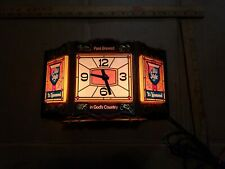 Old Style lager beer TIFFANY STYLE DESK BEER LAMP/CLOCK - OLD STYLE