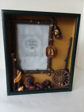 """Elizabeth Andrew Ltd Country Western Shadow Box Picture Frame 5"""" x 7"""""""