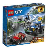 """LEGO® 60172 City """"Verfolgungsjagd auf Schotterpisten"""" NEU & OVP"""