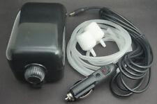 Adjustable Aqua 2 outlet Air Pump Aquarium Water Fish Tank Oxygen & Car Charger