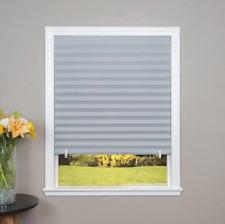 Paper Pleated Shade 36'' x 72'' Window Blind Sun UV Block Darkening Room Grey