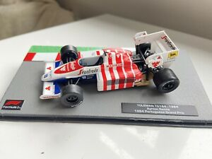 F1 Car Collection -Toleman Hart TG184 Ayrton Senna 1984 Portuguese GP SUPERB
