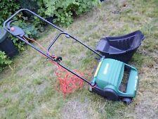More details for qualcast lawnraker 32 + box.  complete & good working order.cash on collect le12