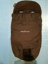 Maclaren buggy liner and footmuff - super cosy for winter