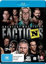 WWE - Wrestling's Greatest Factions (Blu-ray, 2016, 2-Disc Set)