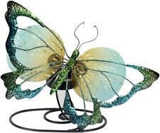 Dekofigur Schmetterling als Teelichthalter - Tier, Metall, Blech, Dekoration