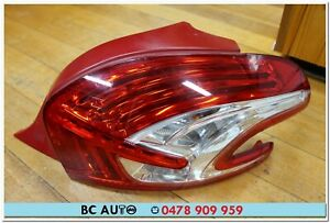 Peugeot 208 Hatch Right RH Tail Light Lamp Genuine Lens 2012 2013 2014 2015 13 R