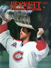 1993 Beckett Hockey Monthly Magazine #34: Patrick Roy - Montreal Canadiens Cup