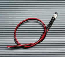 LED 3mm/ 5mm/ 10mm verkabelt 5V / 12V / 24V mit 20cm Kabel Modellbau Hobby