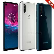 "Motorola One Action (128GB, 4GB) 6.3"" Dual SIM GSM Unlocked (US + Global 4G LTE)"