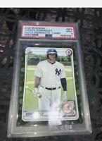 2020 Bowman Paper Prospects Camo Jasson Dominguez RC PSA 9 NY Yankees MLB 📈