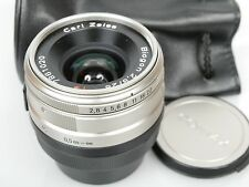 Zeiss Contax biogon g 2,8/28 mm para for Contax g1/g2 top con bolsa + case Mint