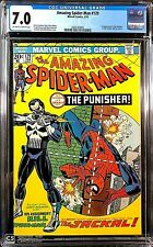Amazing Spider-Man #129 CGC 7.0  1st Punisher