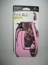 NEW Nite Ize PINK Mossy Oak X Large Cell Phone Clip Case Fits ALL Vertical XL