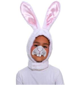 Bunny Rabbit - Hood and Nose Mask Costume Accessory Set - Child Size