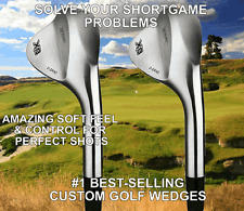 PGA TOUR CUSTOM 2 WEDGE SET 50 52 54 56 58 60 64 68 LOB GAP APPROACH SAND WEDGE