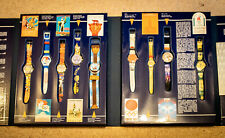 VINTAGE SWATCH No.18 Swatch Special BOX Historic Olympic Games (9 Watches 1996)