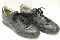 RICHMOND shoes sz  8 / 8.5 Europe sz.42  black leather. Made in Italy S6391