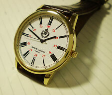 RAF Royal Air Force Officers Oxford Wrist Watch. WW2 1940's Retro Style Dial.