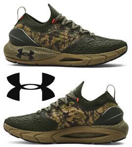 Under Armour UA Hovr Phantom 2 ABC Men's Sneakers Running Shoes Sport Camo Green