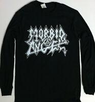 MORBID ANGEL Long Sleeve T shirt Death Metal Bathory Celtic Frost Immolation S-X