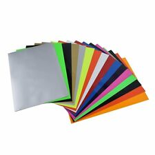 Hot Vinyl Angel Crafts Heat Transfer Sheets A4 Size 16 PACK For Shirts Clothing