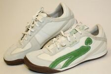 Cushe New UM00056 White Green Mens 10 43 Lace Up Athletic Sneakers Shoes