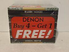 Denon HD7 100 Cassette Tape (Sealed) Lot of 5 New