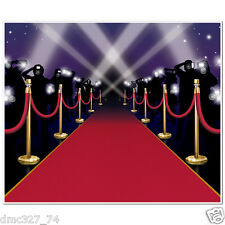 HOLLYWOOD Movie Night  Awards RED CARPET Decoration Insta MURAL Wall Cover