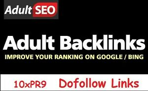 Your Escort, Dating, Gambling, Pharma, Adult Site on 10 up to PR9 Sites Dofollow