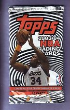 2003 / 04 Topps Basketball Hobby Pack fresh from box! James, Wade, Boss RC year