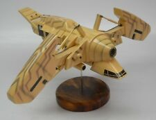 The Betty Alien Resurrection Spacecraft Mahogany Kiln Wood Model Large New