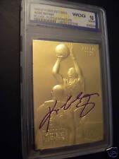 KOBE BRYANT 1996-97 LIMITED ED AUTOGRAPHED WCG GEMMT 10 23KT GOLD ROOKIE CARD!