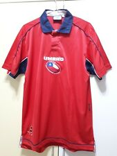 Chile National Football Team Home Umbro Jersey, Size: M, Excellent Condition