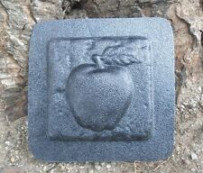 Gostatue apple  travertine tile mold abs plastic mold rapid set cement all mould