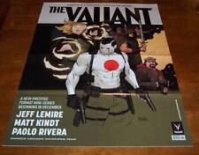 "THE VALIANT BLOODSHOT Archer & Armstrong  PROMO POSTER NEW 24"" X 35"" Comics"
