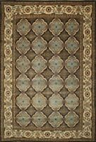 Traditional Hand made Ariana Area Rug Green/Beige Color Turkish Rugs (10 x 14)