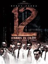 Affiche 120x160cm 12 HOMMES EN COLÈRE (TWELVE ANGRY MEN) 1957 Henry Fonda R2007