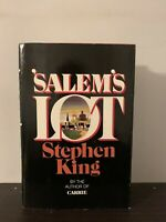 Salem's Lot by Stephen King (1975, Hardcover, Book Club Edition)