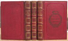 JOSEPH DROZ HISTOIRE DU REGNE DE LOUIS XVI 3 VOLUMES 1860 REVOLUTION FRANCAISE