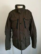 Mens Schott NYC Khaki Green Military Style Jacket - Size XL