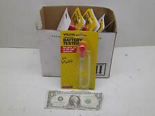 New Nib Lot Of 9 Victor Easy To Use Battery Testers 6 12 Or 24V Volt V644 Zp