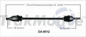 CV Axle Shaft Front Right SurTrack DA-8012 fits 89-92 Daihatsu Charade