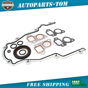 New Rear Cover Plate Gasket & Rear Main Seal For GM LS1, LS2, LS3, LS6 12639249