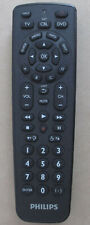 Philips Universal Remote Control SRP1103 TV SAT CABLE DVD Simple Set-Up