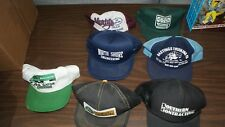 Lot of 7 Vintage Snapback Trucker Hats