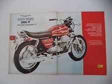 advertising Pubblicità 1974 MOTO GUZZI V7 850 T